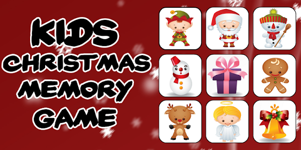 Kids Christmas Memory Game - screenshot thumbnail