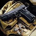 Military War: pistol icon