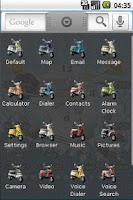 Screenshot of Vespa Classic Full Theme
