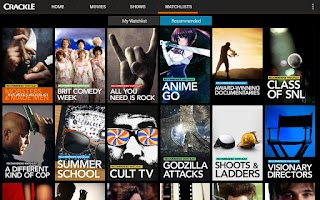 Screenshot of Crackle - Movies & TV