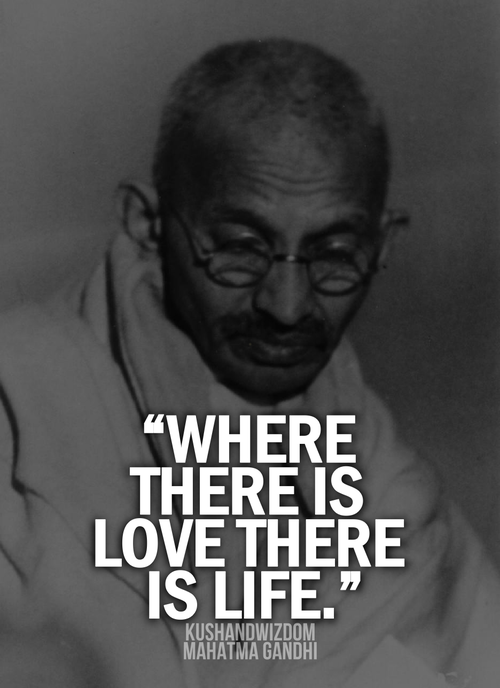 Quotes By Gandhi About Love : Gandhi quotes android apps on google play