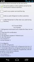 Screenshot of EPA 608 Practice Pro