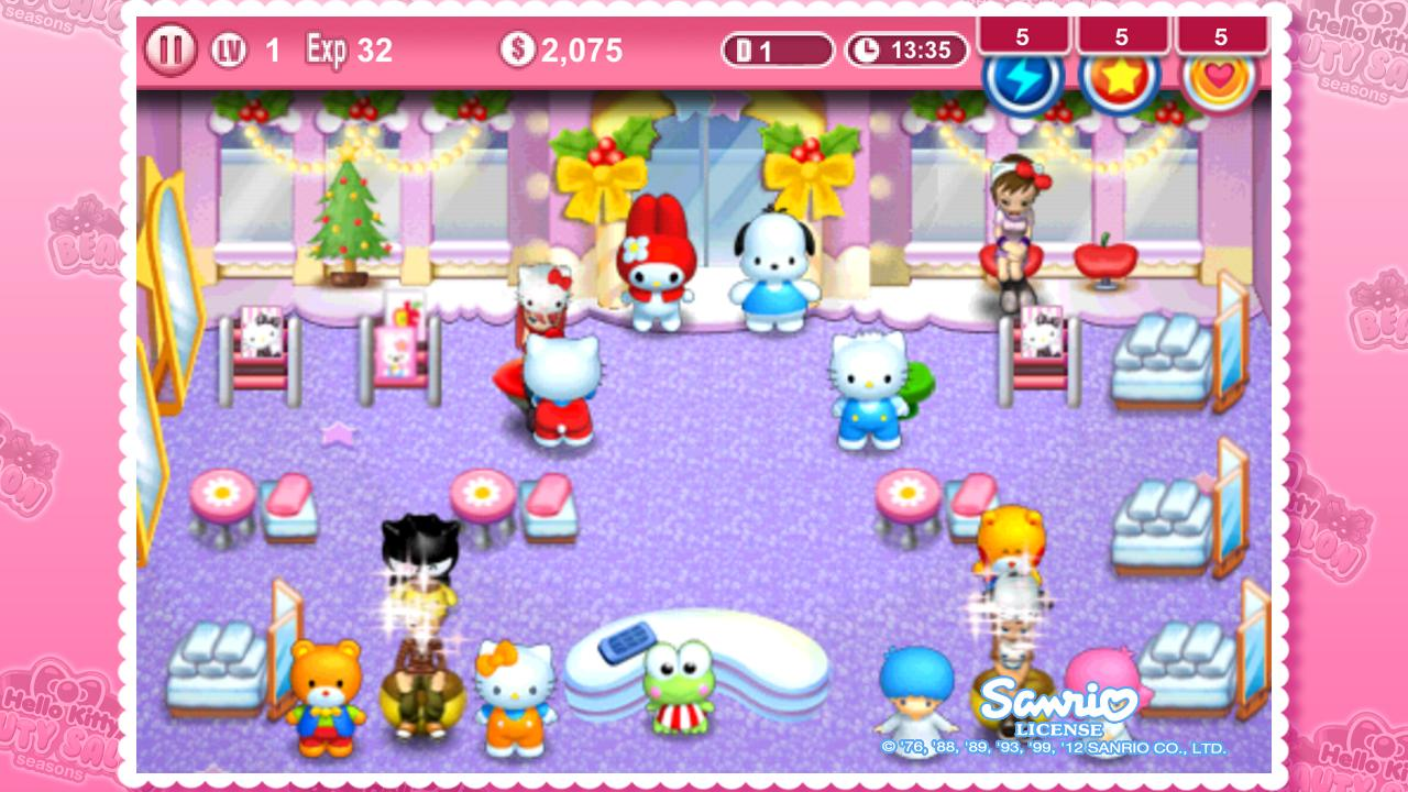 Uncategorized Hello Kitty Game hello kitty christmas android apps on google play screenshot