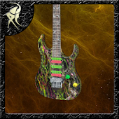 Guitar Ibanez Jem 3D LWP