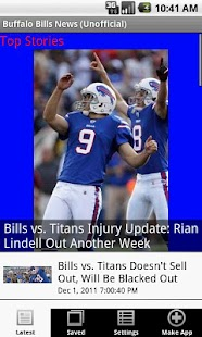 Buffalo Bills News (NFL) - screenshot thumbnail