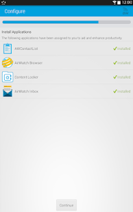 AirWatch Agent - screenshot thumbnail