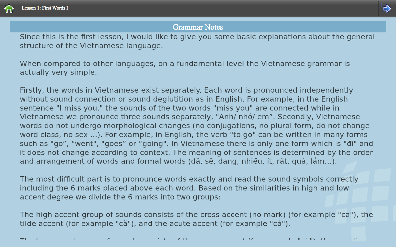 L-Lingo Learn Vietnamese (Android) reviews at Android Quality Index