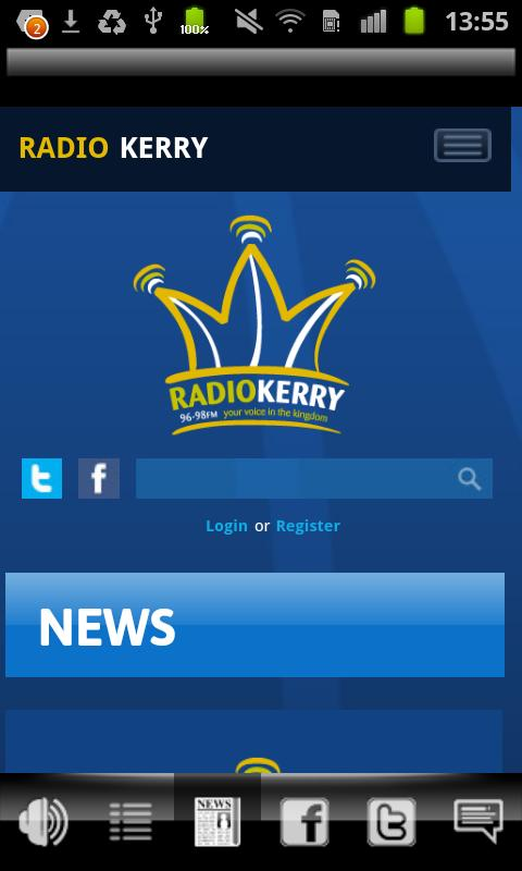 Radio Kerry - screenshot