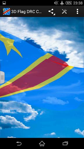 3D Flag DRC Congo LWP