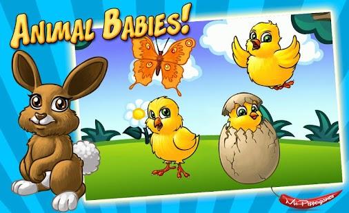 Animal Babies LITE 拼圖