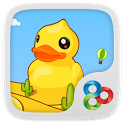 Bubble Ducky GO Super Theme icon