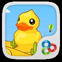 Bubble Ducky GO Super Theme icon