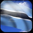 3D Botswana Flag icon
