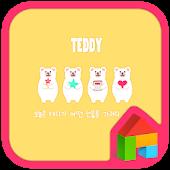 Teddy dodol launcher theme