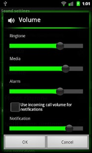 Galaxy Green for CM7 (Donate) - screenshot thumbnail