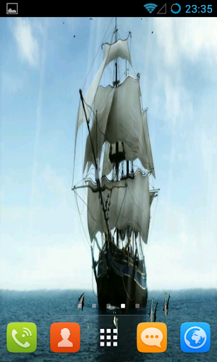 Ship Live Wallpaper