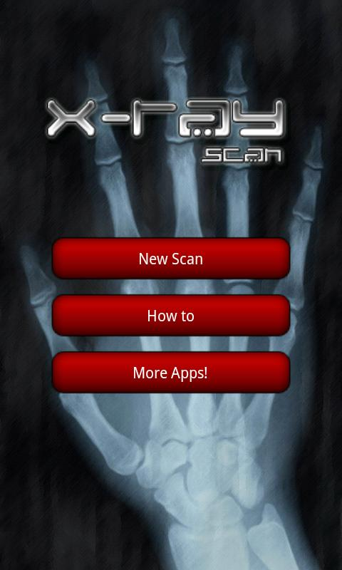 X-ray Scanner - screenshot