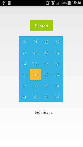 Down to one Puzzle Game Pro