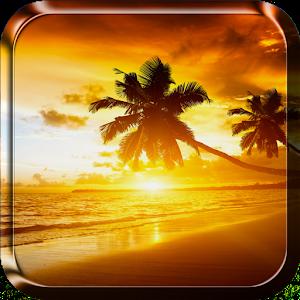 夕陽動態壁紙 個人化 App LOGO-APP試玩