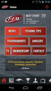 FLW Tournament Bass Fishing - screenshot thumbnail