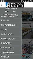 Screenshot of Michigan Radio App V4