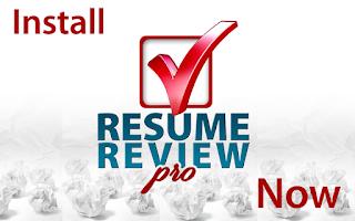 Screenshot of Resume Review Pro