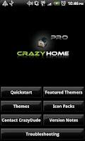 Screenshot of Crazy Home