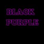 GO Keyboard Black Purple Theme