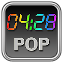 Rainbow Clock Widget (POP) icon