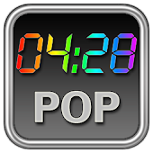 Rainbow Clock Widget (POP)