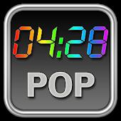 Rainbow Clock Widget (POP)