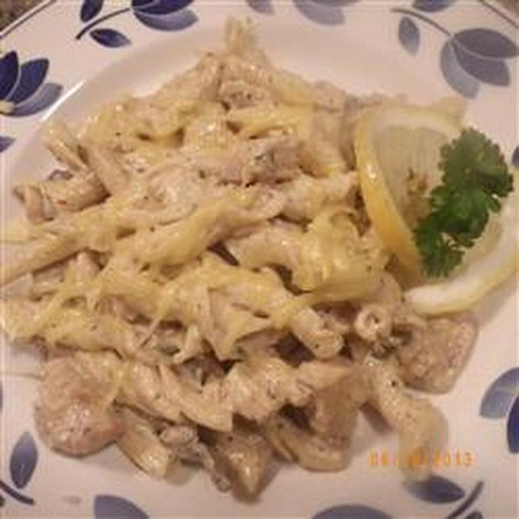 Baked Lemon-Basil Pasta Recipe