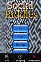 Screenshot of Social Riddles