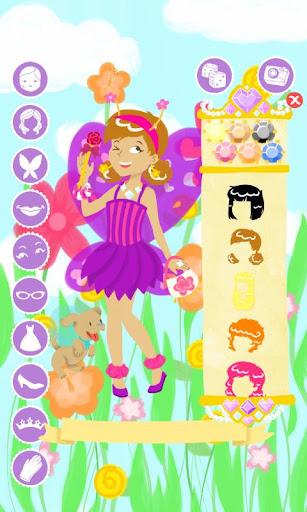 妖精のファッション ショー ゲームをドレスアップ