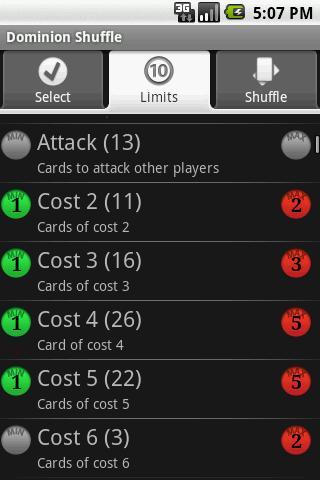 Dominion Shuffle - screenshot