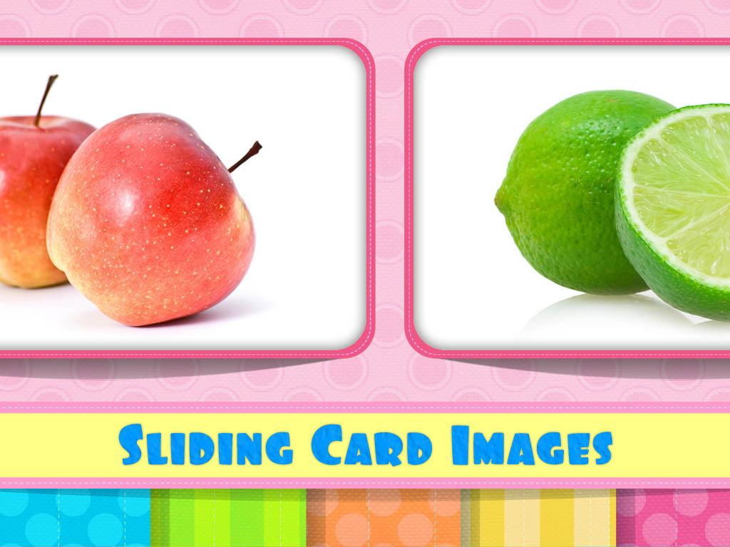 English Flash Cards - Fruits- screenshot