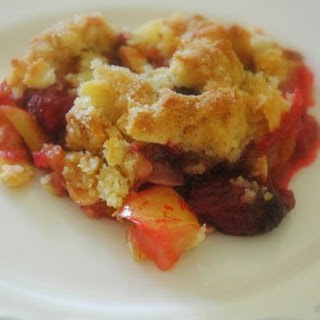 Fruit Crumble.