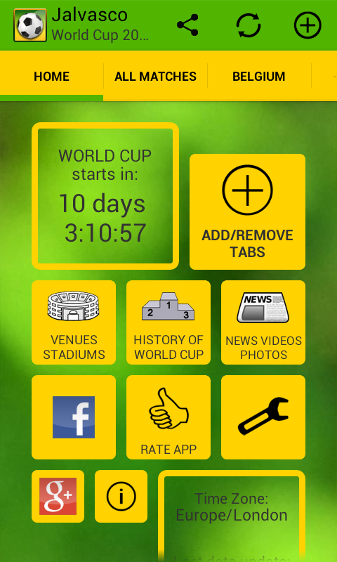 Jalvasco World Cup 2014- screenshot