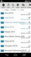 Screenshot of SD File Manager File Explorer