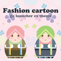 Fashion Cartoon Go Theme icon