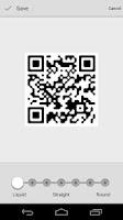 Screenshot of QRcode Scan
