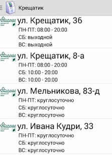 ATMs Kiev - screenshot thumbnail
