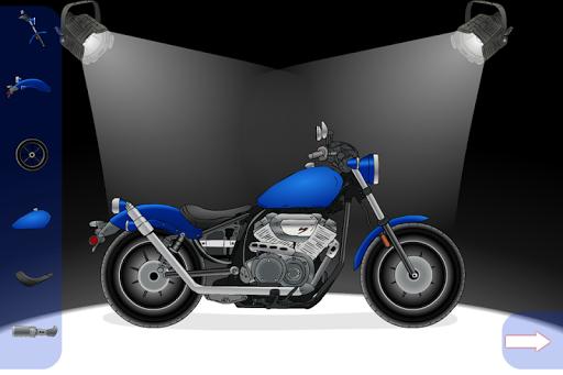 オートバイの作成