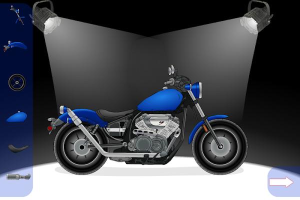 Create A Motorcycle: Classic - screenshot