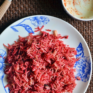 Beetroot pulao recipe,how to make beetroot pulao |Easy lunch box recipes.