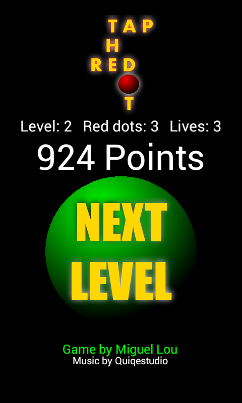 Tap The Red Dot - screenshot