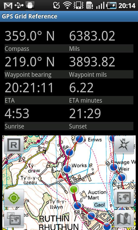 GPS Grid Reference -  Full - screenshot
