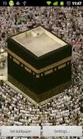 Screenshot of Mecca Hajj Live Wallpaper