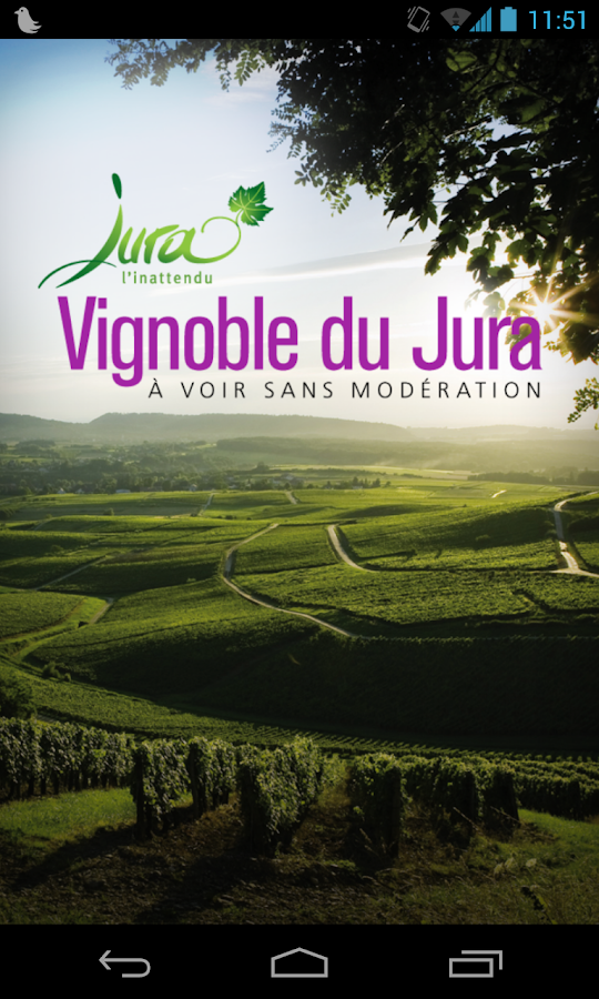 Vignoble du Jura- screenshot