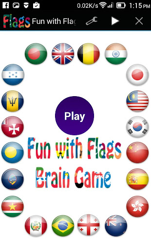 Fun with Flags - Brain Game